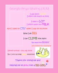 Contest Entry 6 For Create Cute Poster About Baby Girl