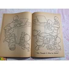 Vintage 1970 Golden Book Walt Disneys Huey Dewey Louie Coloring