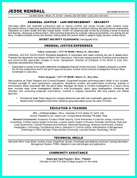 Objective Resume Criminal Justice We Provide As Reference To Make Correct And Good Quality