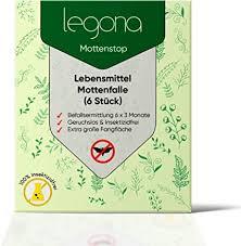 legona lebensmittel mottenfalle 6 stück wirksames mittel zur bekämpfung motten in der küche und lagerräumen