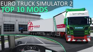Top 10 Mods For Euro Truck Simulator 2 (1.31) – July/August 2018 ...
