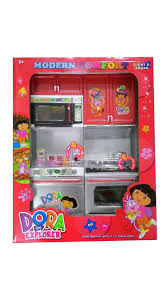 Dora The Explorer Fiesta Kitchen Set by Accessories Small Kitchen Set For Kids Toy Kitchen Set Cooking