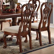 Set Of 2 Formal Dining Side Chair Carving Legs Cherry Wood Spindle ... Custom Made Modern Wood Ding Room Chair With Carved Seat Gazelle Crown Mark Kiera 2151sgy Traditional Side With Mahogany Chippendale Chairs For The Leather Seats Antique Round Table Set 21 W Of 2 High Back Linen Blend Hand Solid Frame Classic Arab Wedding Cross Bar Cast Pulaski Fniture San Mateo Pair Teak Fniture In 2019 Sothebys Home Designer Hooker Handcarved Wooden Luxury Palace White Color Baroque Carving For Set Of 82 19th Century Carved Swedish Birch Chippendale Design