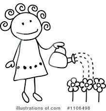 garden clipart royalty free gardening illustration by c ve able garden clipart black and white
