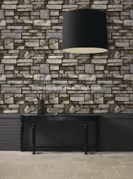 Metallic Tile Effect Wallpaper by Stone Effect Wallpaper B U0026q Stone Effect Wallpaper Bathroom Stone