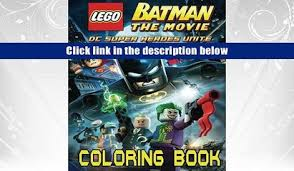 PDF LEGO BATMAN Coloring Book For Kids And Adults