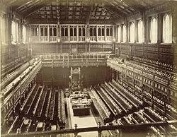 chambre du parlement politique au royaume uni wikipédia