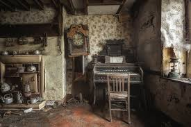 Room Old House Waste Things Abandonment