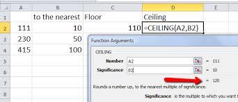 ceiling excel round down integralbook com