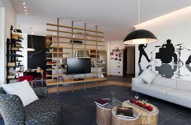 Room Divider And Creative Tv Stand Ideas In