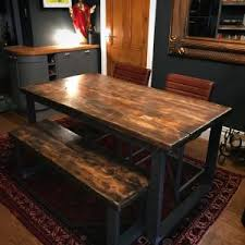 RECLAIMED DINING TABLE BENCH