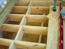 Floor Joist Spacing Shed by Starting The Build