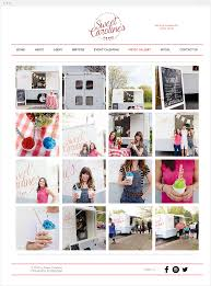 100 Food Truck Websites Sweet Carolines Ice Box Inspiring Wix
