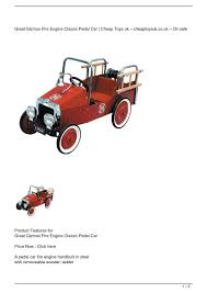 Calaméo - Great Gizmos Fire Engine Classic Pedal Car Get Rabate Instep Fire Truck Pedal Car14pc300 Car Vintage Kids Ride On Toy Children Gift Toddler Castiron Murray P621 C19 Calamo Great Gizmos Engine Classic Get Rabate Antique Vintage Fire Truck Pedal Car For Sale Antiquescom Generic Childs Metal Firetruck Stock Photo Edit Now Photos Images Alamy Child Isolated Image Of Child Call To Duty Fire Truck Pedal Car Refighter Richard Hall 1960s Murry Buffyscarscom Wheres The Gear Print Antique Childrens
