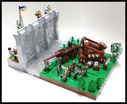castle siege a lego creation by matija grguric mocpages com