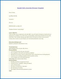 Resume For Retail Job With No Experience Sample Sales