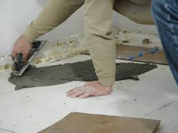 Trowel Size For 12x24 Tile by How To Install A Tile Floor In A Kitchen How Tos Diy