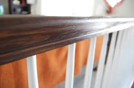 Before And After Gel Stained Stair Rail | Matsutake Java Gel Stain Banister Diy Projects Pinterest Gel Remodelaholic Stair Makeover Using How To A Angies List My Humongous Stairs Fail Kiss My Make Wood Stairs Treads For Cheap Simply Swider Stair Railing Cobalts House Staircase Reveal Cut The Craft Updating A Painted With An Ugly Oak Dark All Things Thrifty 30 Staing Filling Holes And