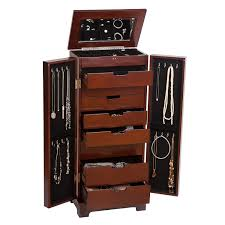 Amazon.com: Mele & Co. Lynwood Wooden Jewelry Armoire (Dark Walnut ... Usa Free Shipping Organizer White Wood Rotating Desktop Jewelry Armoire Sewing Table Ikea Computer Corner Desks Amazoncom Hives And Honey Henry Iv Walnut Plaza Astoria Walldoormount Black Diplomat 31557 Watch Cabinet Fniture Beautiful For Home In Powell Classic Cherry Kitchen Ding Mirror With Or Wardrobe Blackcrowus Buy The Haley At Michaels Mele Co Alexis Wooden Belham Living Mirrored Lattice Front