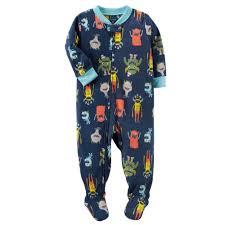 100 Monster Truck Pajamas Shop Carters Baby Boys 1 Piece Fleece 24 Months