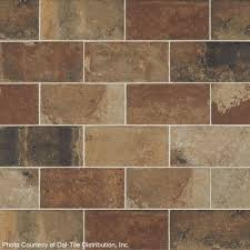 4x8 Subway Tile From Daltile by Marazzi Urban District Brx Downtown 4x8 Quarry Tile 4 95 Sq Ft