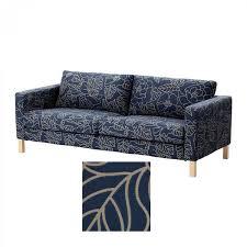 3 Seater Sofa Covers Ikea by Ikea Karlstad 3 Seat Sofa Slipcover Cover Bladaker Blue Bladåker