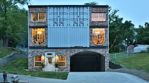 100 Container Building Shipping Container House Lets Its Owners Live Mortgage Free Curbed