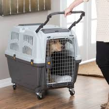 Skudo Plastic Sky Kennel By Midwest IATA Approved Pet Carrier