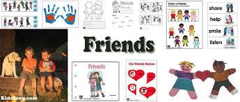 Friends Activities Crafts And Lessons For Preschool Kindergarten