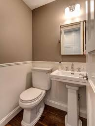 Wainscoting Bathroom Ideas Pictures by Bathroom Trim Work Crown Molding Designed To Dwell Tips