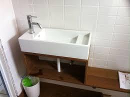 ikea lillangen wall mounted sink renovation bathrooms