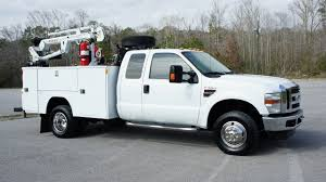 2009 FORD F-350 MECHANICS UTILITY SERVICE TRUCK FOR SALE DIESEL 4x4 ...