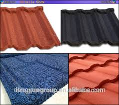 lightweight roofing materials coated steel roofing tile