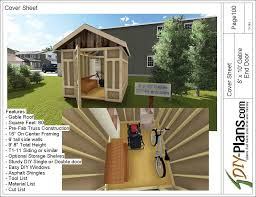 8x10 Shed Plans Materials List by 8x10 Gable Utility Shed Plan