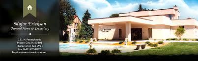Major Erickson Funeral Home & Crematory • Mason City IA