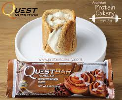 Protein Cakery Quest Bar Cinnamon Cheesecake Roll