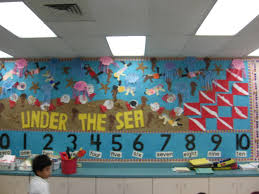 A Former Colleague Mrs Buckley Had Classroom In Which All 4 Walls Were Bulletin Boards So This Kindergarten Teacher Took Up As Much Space She