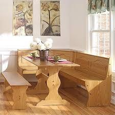 linon chelsea breakfast corner nook table set in natural walmart com