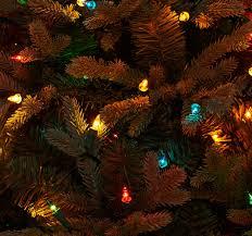bethlehem lights 7 5 blue spruce tree page 1 qvc