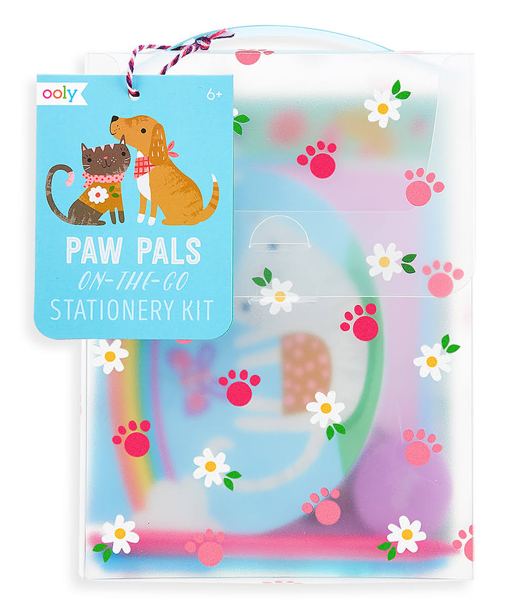 Ooly Paw Pals On-The-Go Stationery Kit