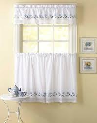 Walmart Kitchen Curtains Valances by 29 Best Crochet Kitchen Curtains Images On Pinterest Crochet