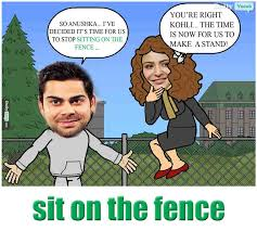 Sit On The Fence Meaning
