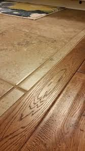 Laminate Floor Transitions To Tiles by How To Mix Hardwood And Ceramic Tile Flooring In Different Rooms