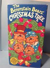 The Berenstain Bears Christmas Tree Book by The Berenstain Bears Christmas Tree Vhs Ebay