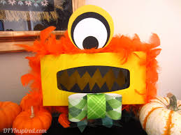 Halloween Candy Dish Craft by Tissue Box Monster Diy Inspired