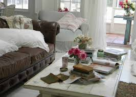 Leather Sofa Living Room Ideas by Leather White Sofa Extraordinary Home Design