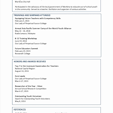 Local Government Resume Examples Inspiring Gallery Samples Financial