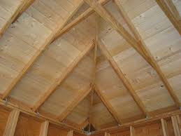 Insulate Cathedral Ceiling Without Ridge Vent by New Build Arts U0026 Crafts Style Garage In Historic Neighborhood