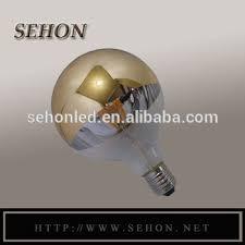 light bulb g16 5 g125 half silvered crown e27 half mirror light