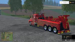 100 Tow Truck Games FS2015 TOW TRUCK V 10
